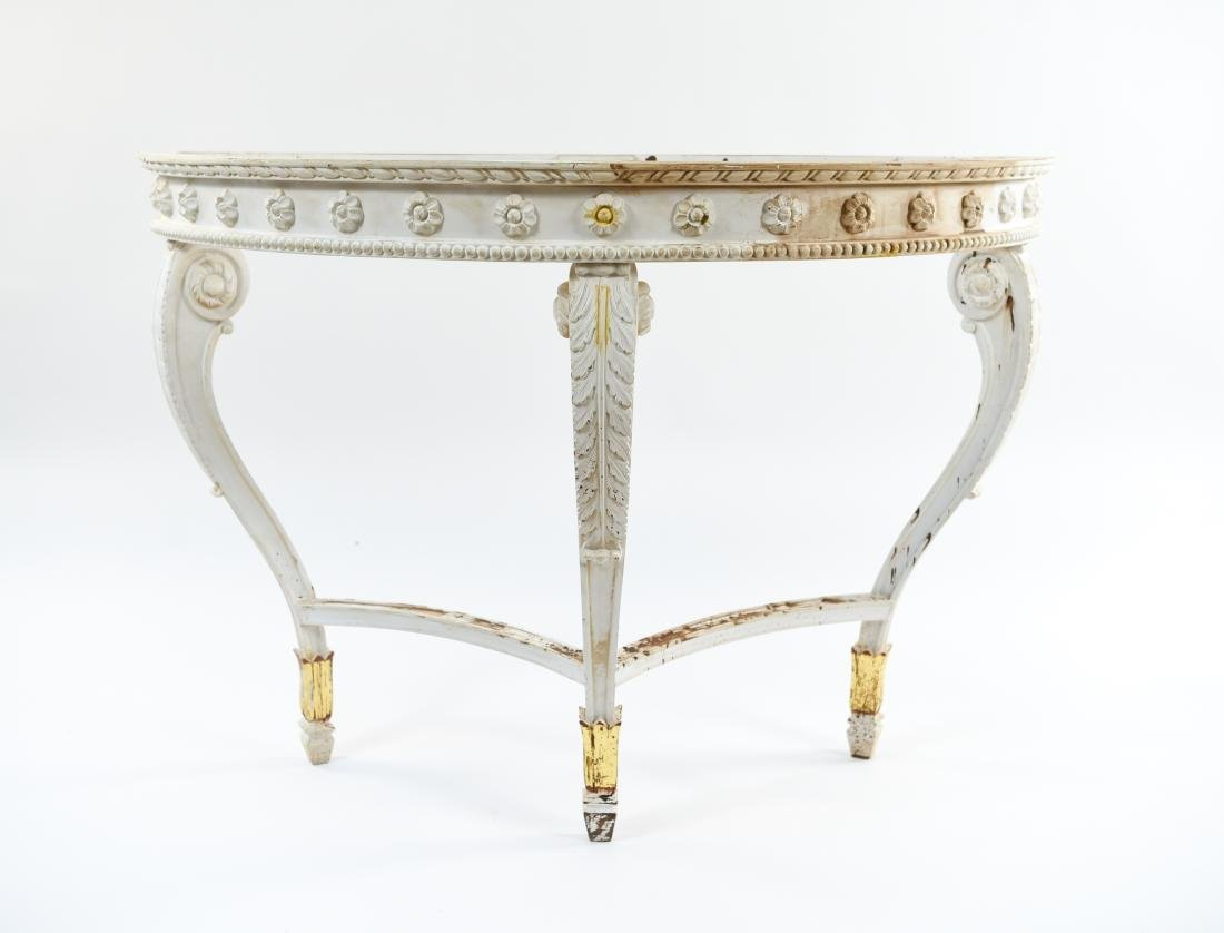 DEMILUNE CONSOLE TABLE BASE