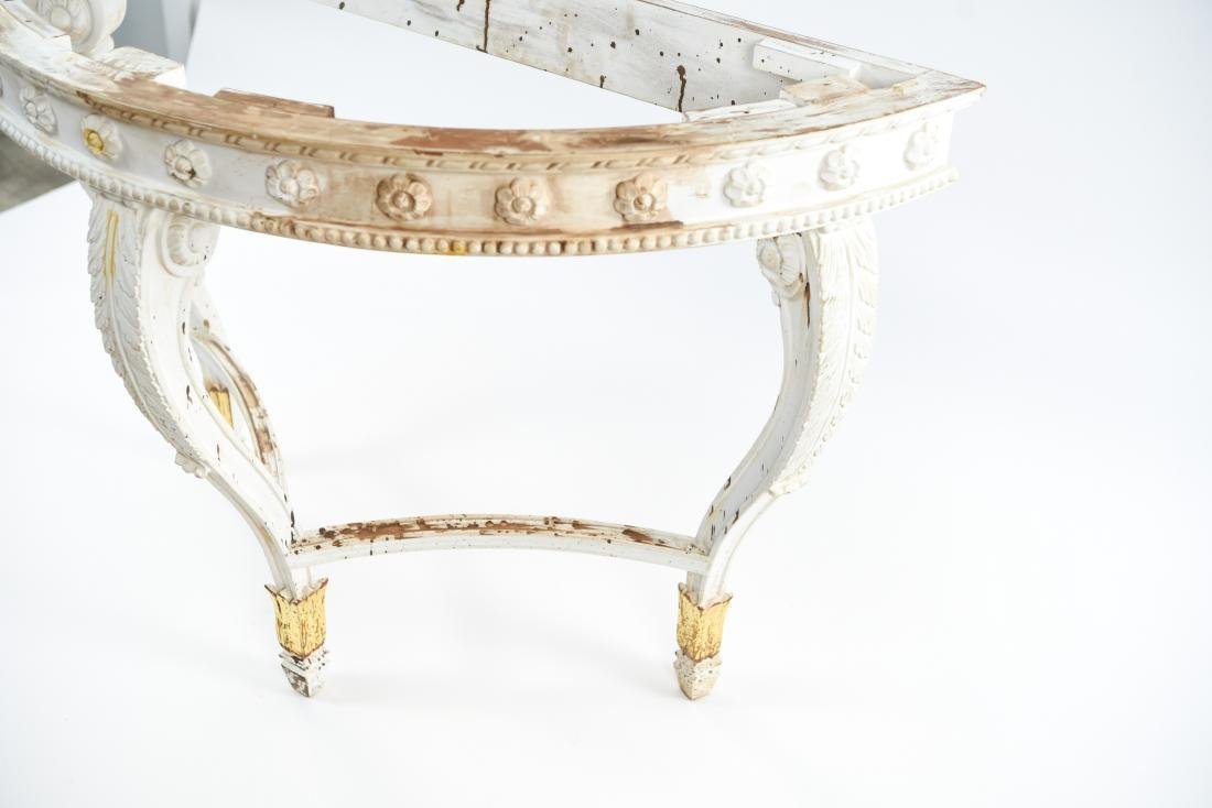 DEMILUNE CONSOLE TABLE BASE - 6