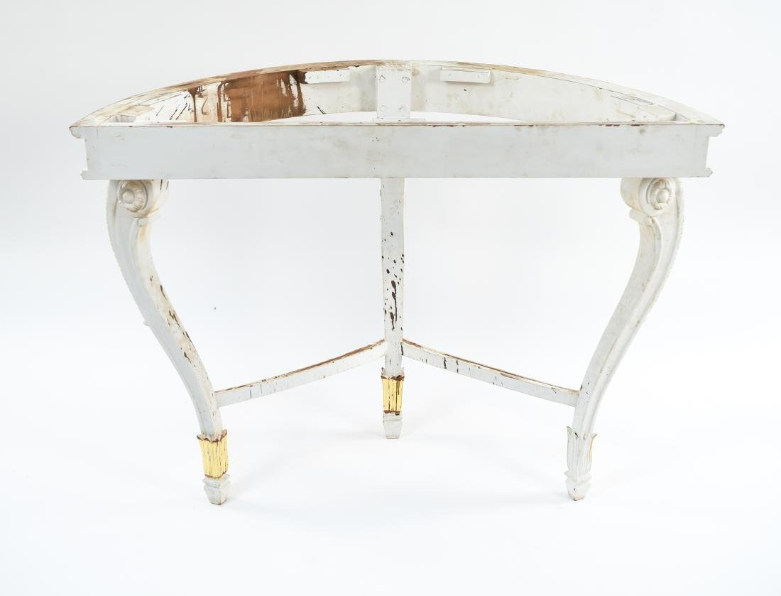 DEMILUNE CONSOLE TABLE BASE - 9