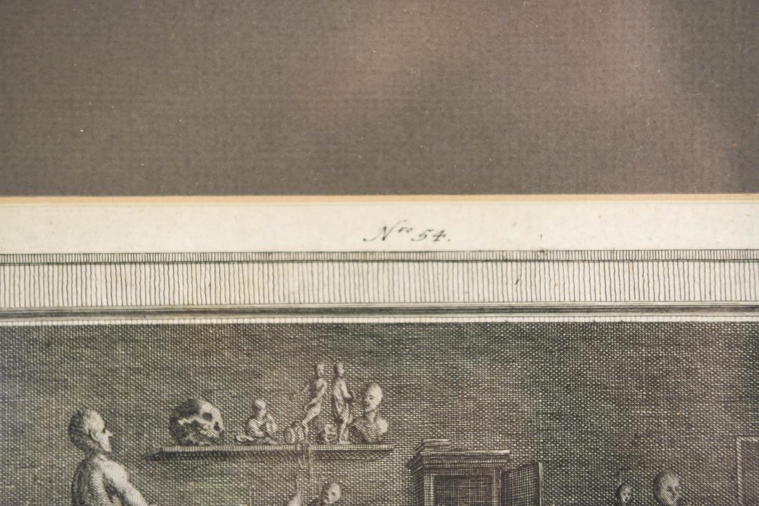 18TH CENTURY ENGRAVING BY JOHANN BALZER - 11