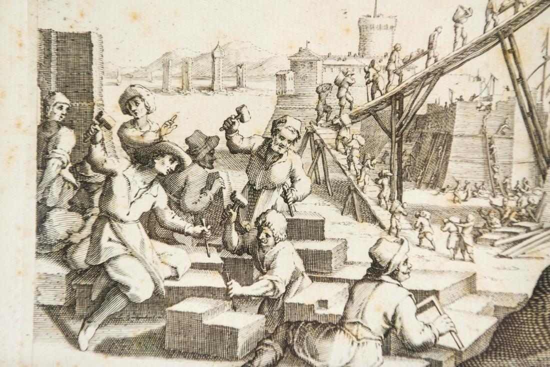 17TH CENTURY ENGRAVING - 4