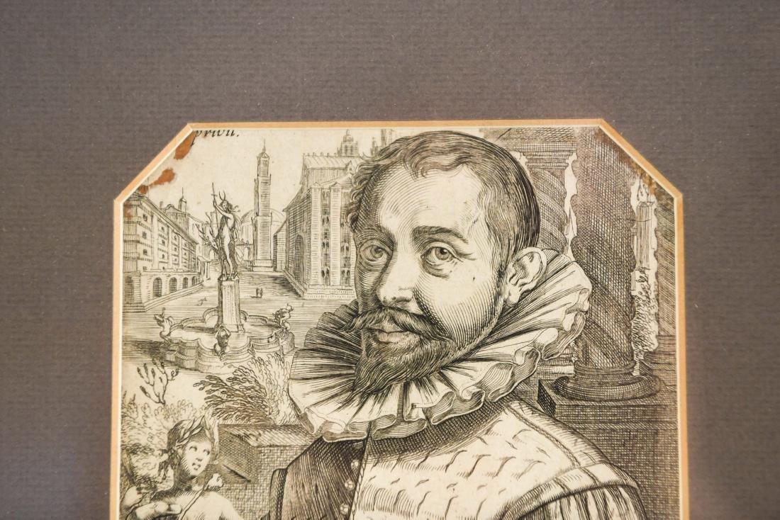 17TH C. ENGRAVING OF ADRIANUS DE VRIES - 4