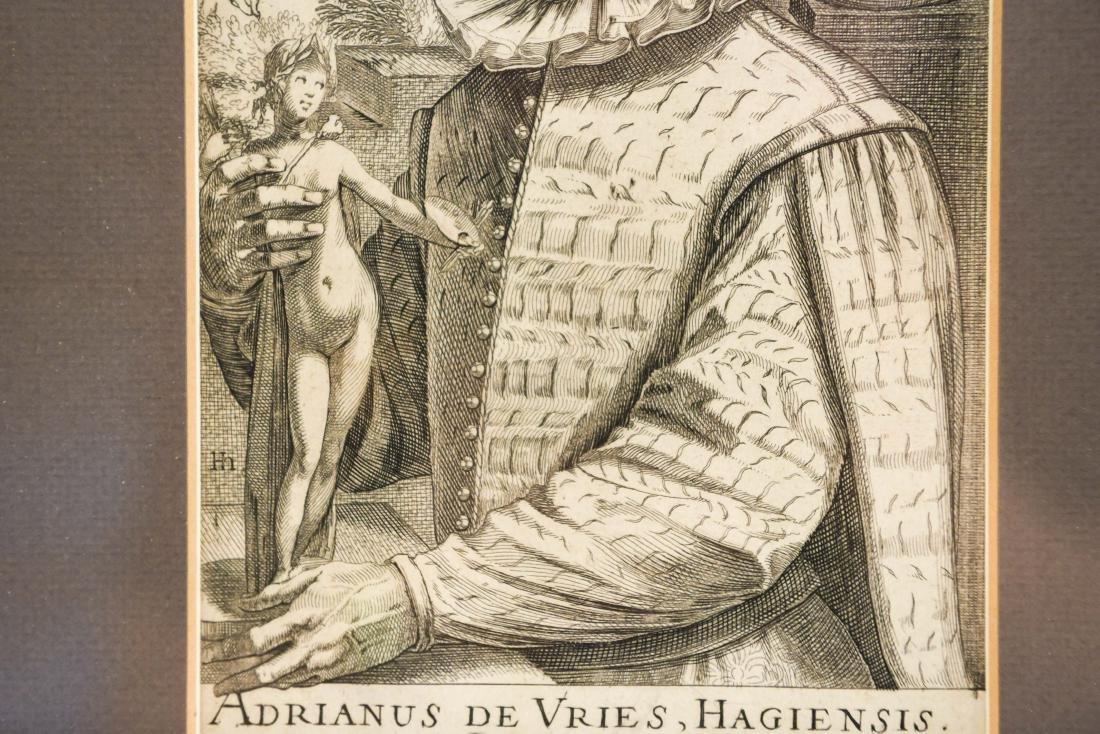 17TH C. ENGRAVING OF ADRIANUS DE VRIES - 5