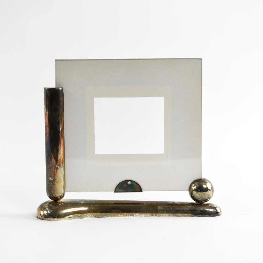 SILVER ART DECO PICTURE FRAME