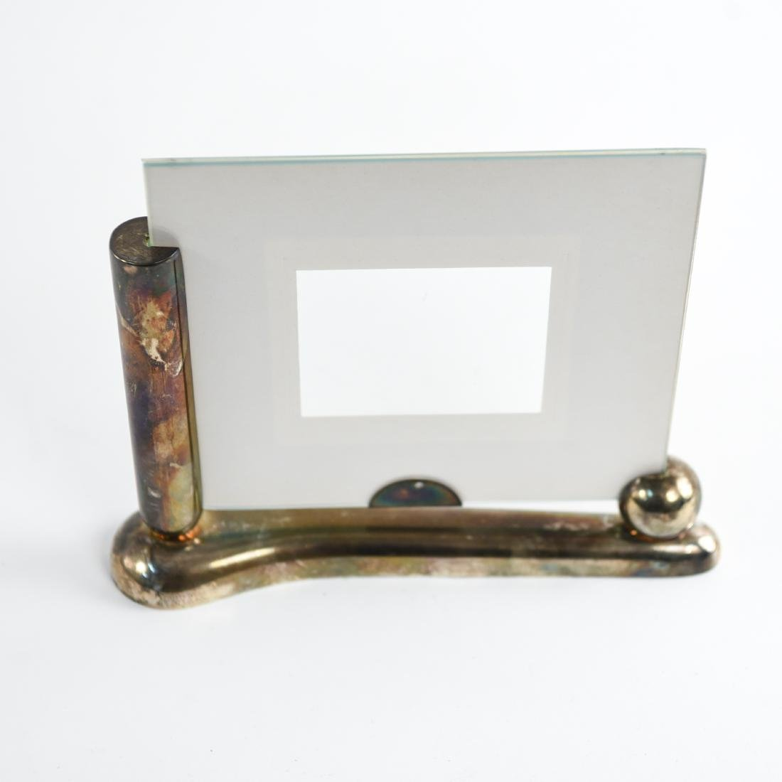 SILVER ART DECO PICTURE FRAME - 2