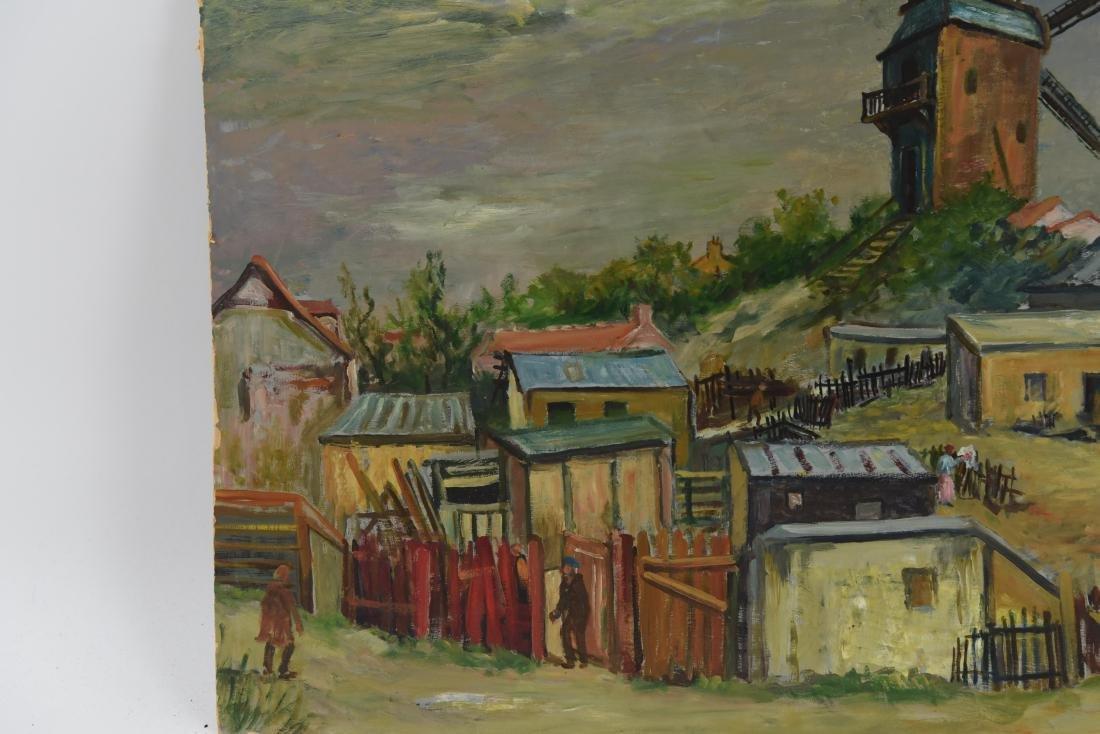 MAWIG (FRENCH 1890-1972) O/B WINDMILL ON A HILL - 3