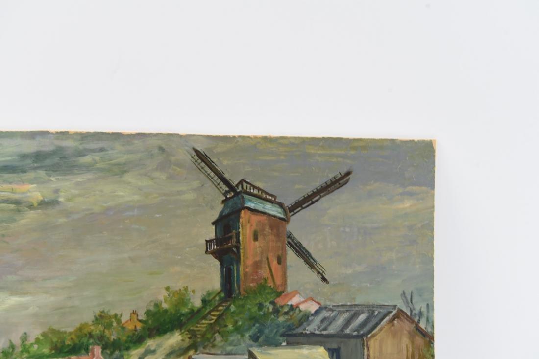 MAWIG (FRENCH 1890-1972) O/B WINDMILL ON A HILL - 5
