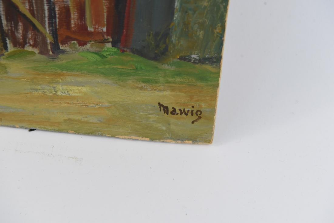 MAWIG (FRENCH 1890-1972) O/B WINDMILL ON A HILL - 6