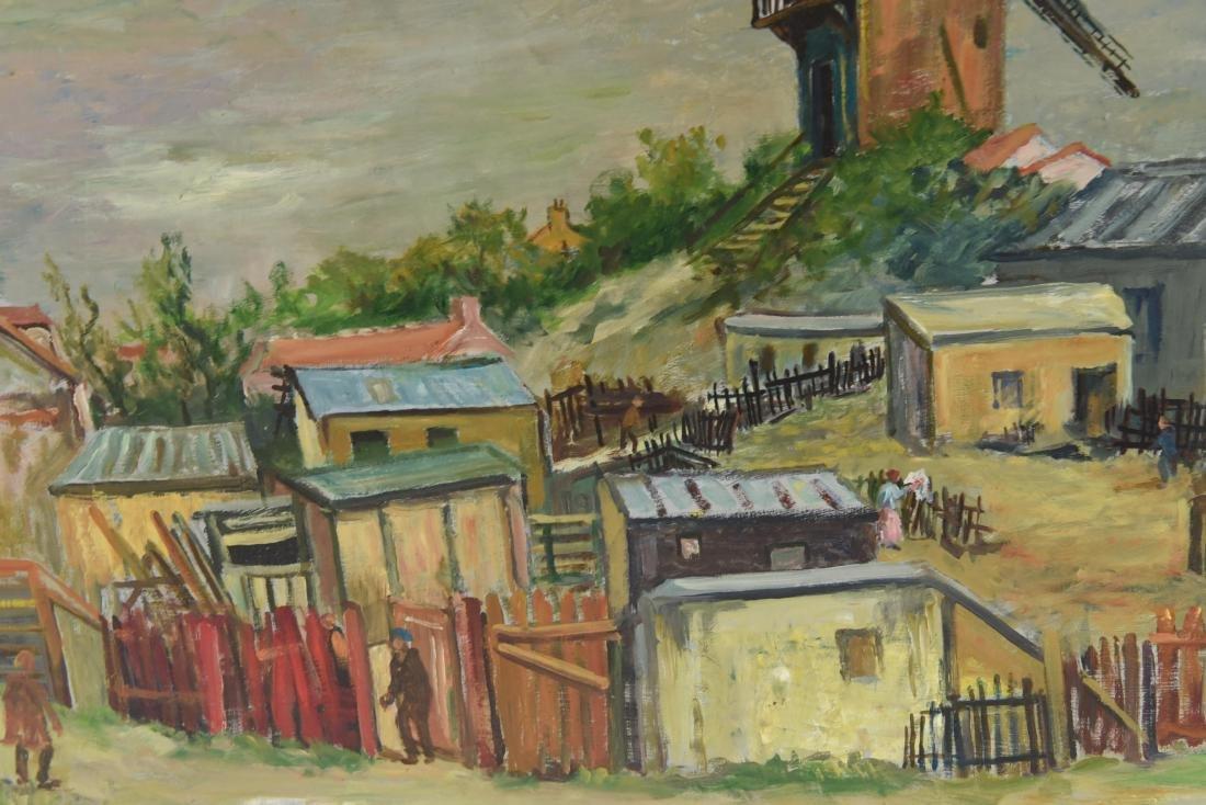 MAWIG (FRENCH 1890-1972) O/B WINDMILL ON A HILL - 7