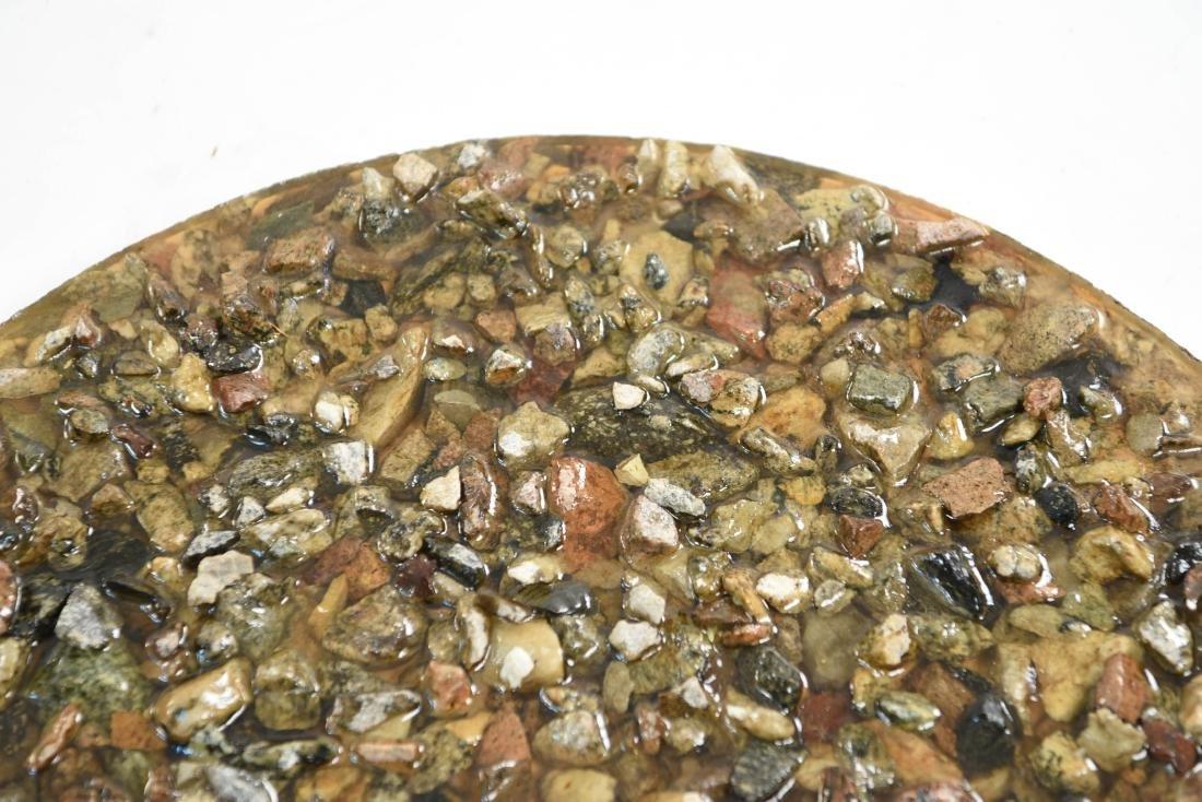RESIN ROCK TABLE TOP - 5