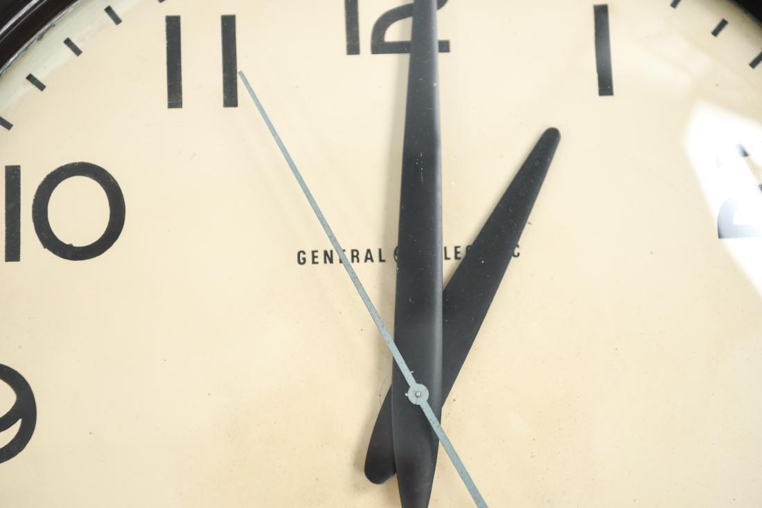 GENERAL ELECTRIC INDUSTRIAL INSTITUTIONAL CLOCK - 2