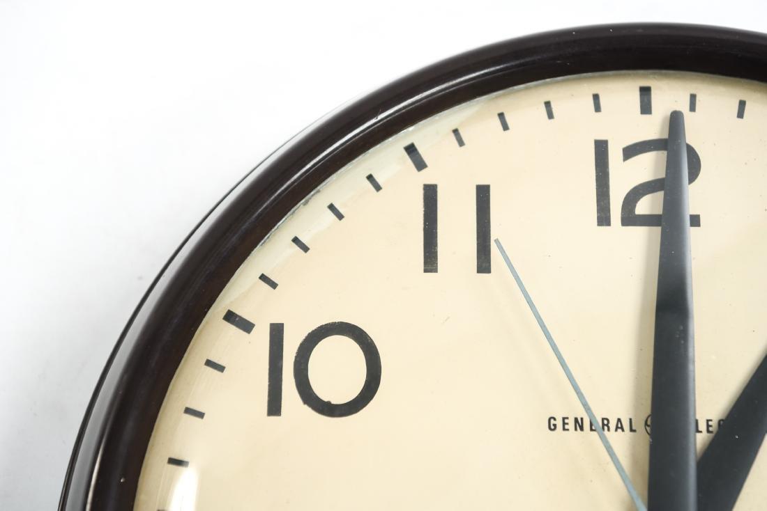 GENERAL ELECTRIC INDUSTRIAL INSTITUTIONAL CLOCK - 3