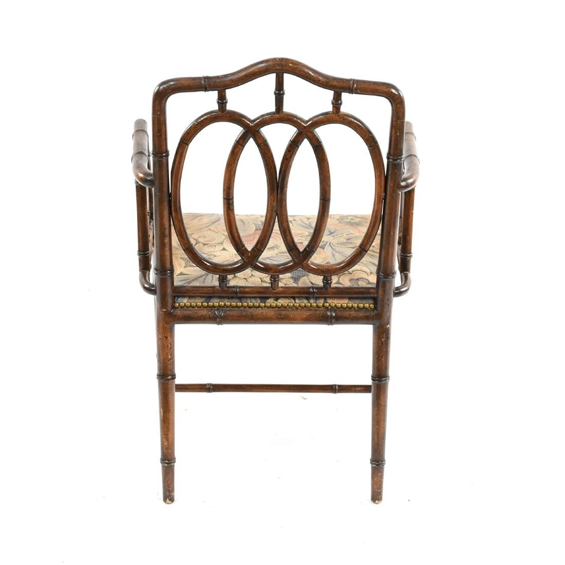 FAUX BAMBOO CHAIR - 10