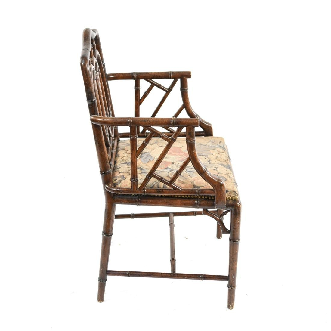 FAUX BAMBOO CHAIR - 9