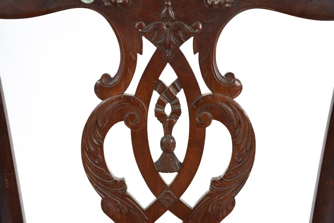 CARVED SIDE CHAIR - 4