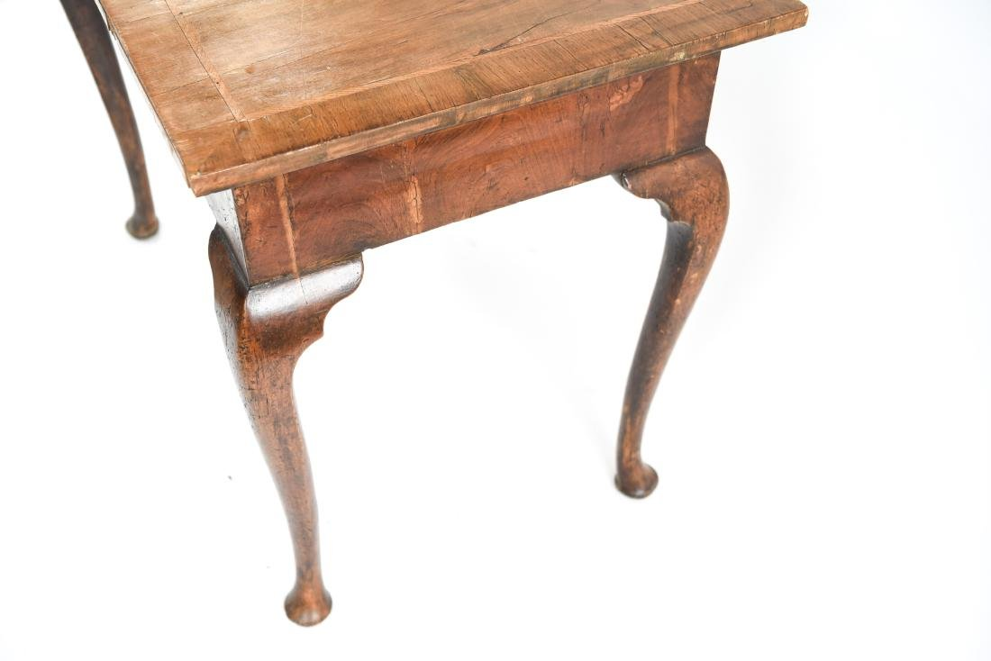 ANTIQUE QUEEN ANNE STYLE TABLE - 13