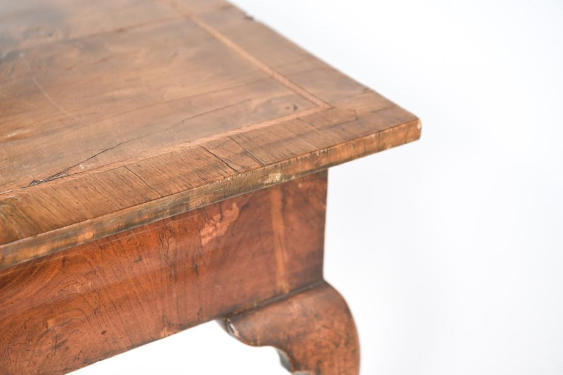 ANTIQUE QUEEN ANNE STYLE TABLE - 14