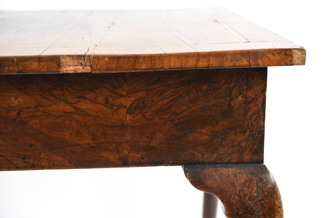 ANTIQUE QUEEN ANNE STYLE TABLE - 16