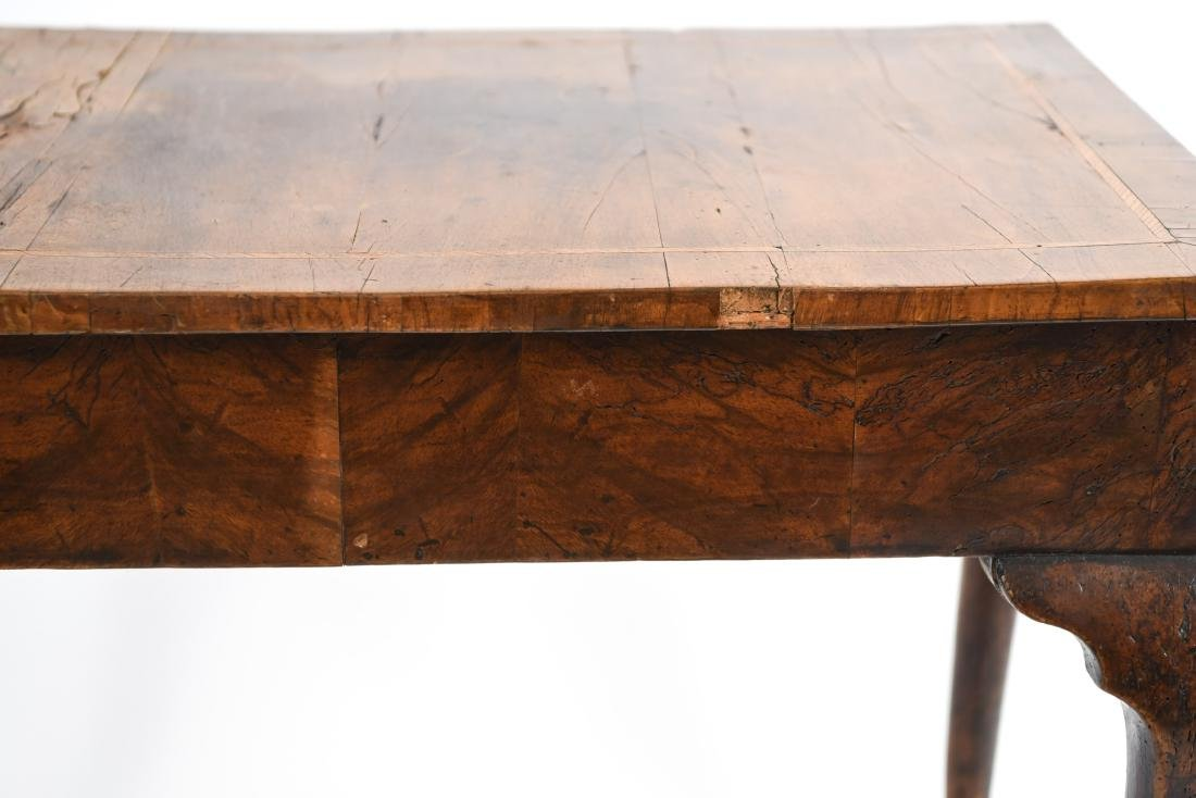 ANTIQUE QUEEN ANNE STYLE TABLE - 3