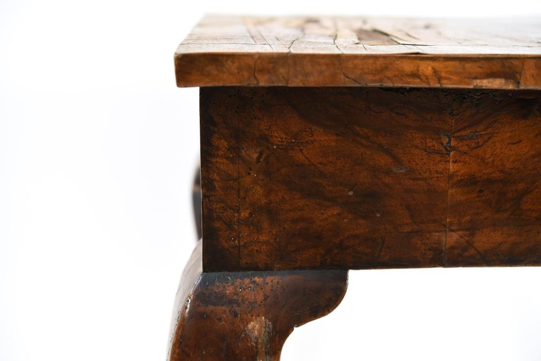 ANTIQUE QUEEN ANNE STYLE TABLE - 5