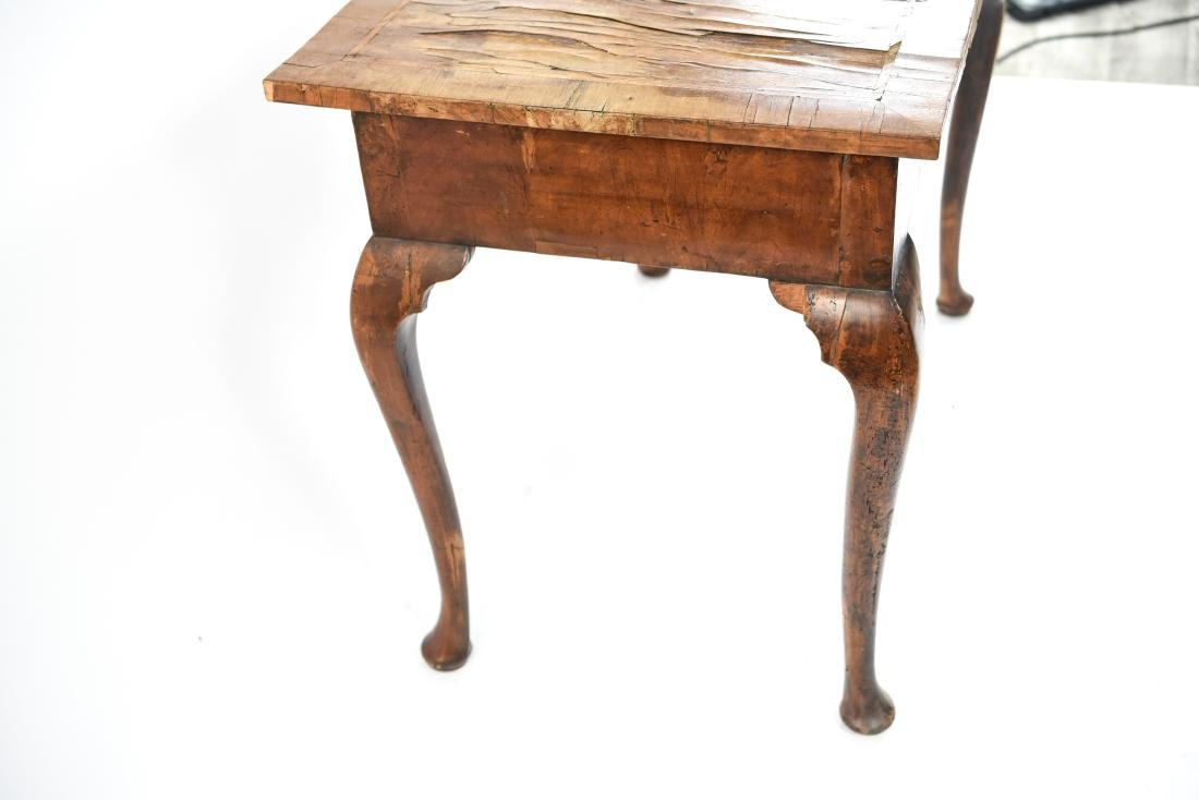 ANTIQUE QUEEN ANNE STYLE TABLE - 7