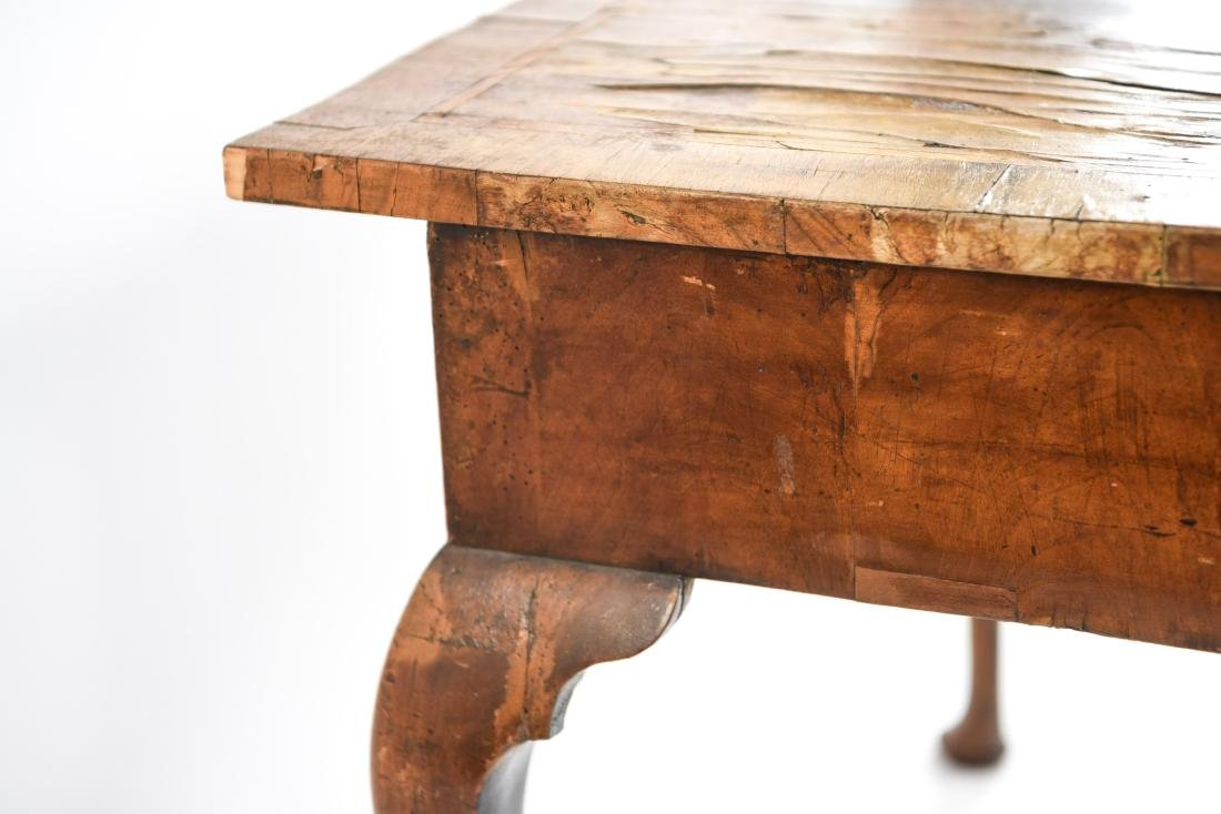 ANTIQUE QUEEN ANNE STYLE TABLE - 9