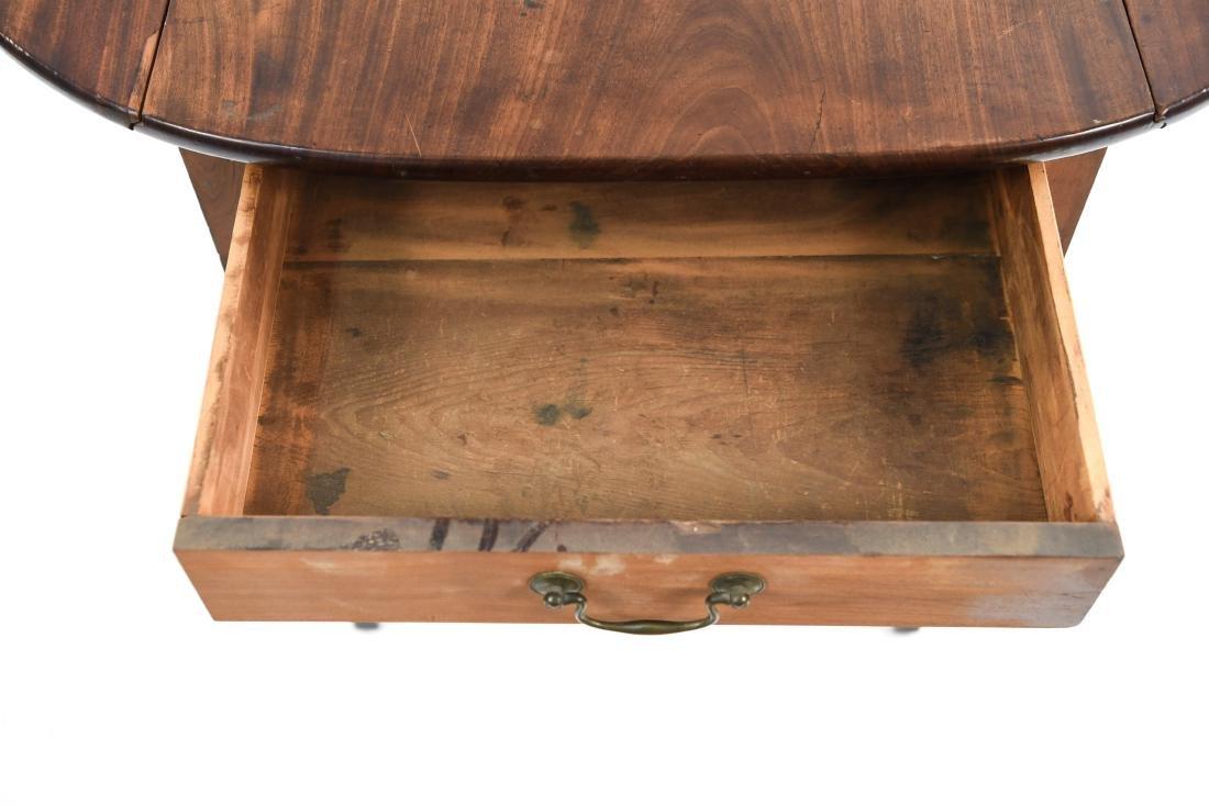 DROP LEAF PEMBROKE TABLE - 10