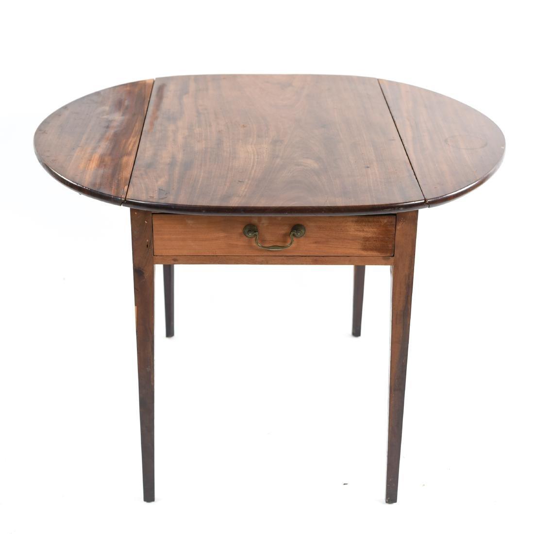 DROP LEAF PEMBROKE TABLE - 7