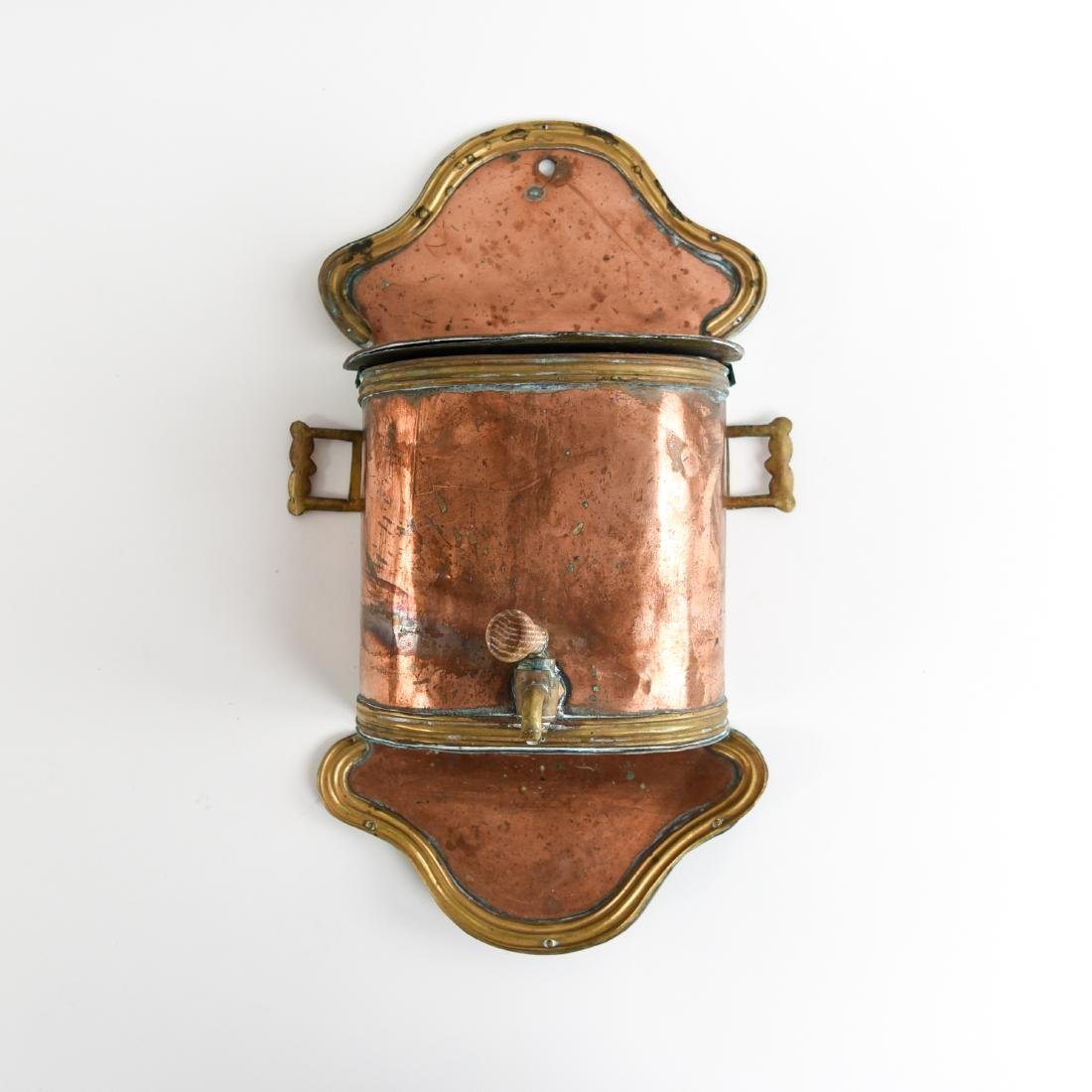 COPPER WALL MOUNT FOUNTAIN WASHING LAVABO