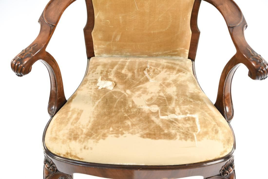 CARVED ARM CHAIR - 4