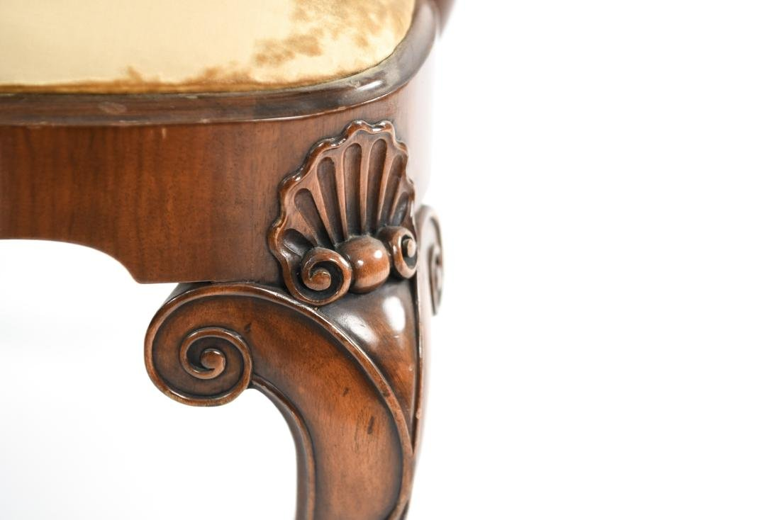 CARVED ARM CHAIR - 8
