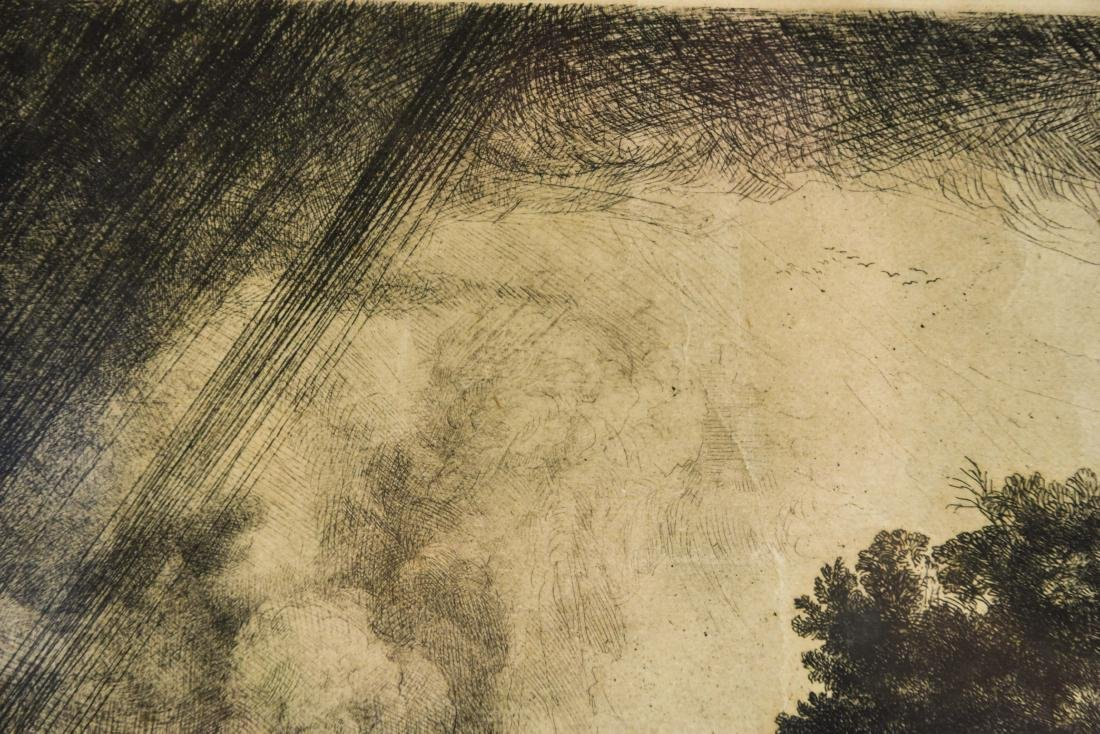 AFTER REMBRANDT GRAVURE ETCHING - 5