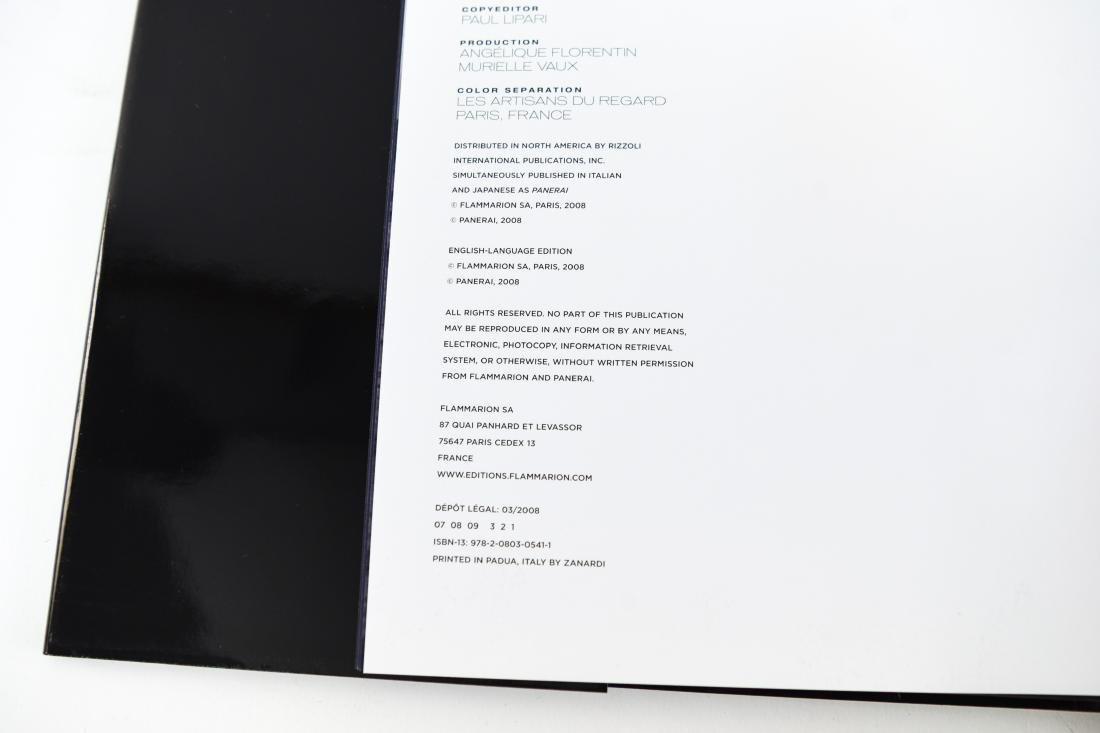PANERAI COFFEE TABLE BOOK - 6