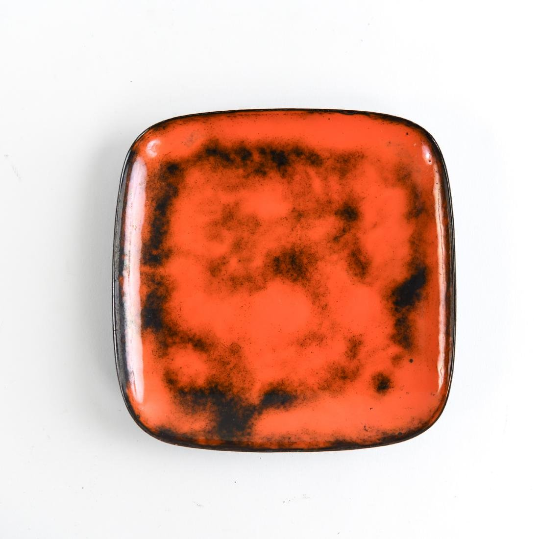 MID-CENTURY ENAMEL AND GLASS GROUPING - 3