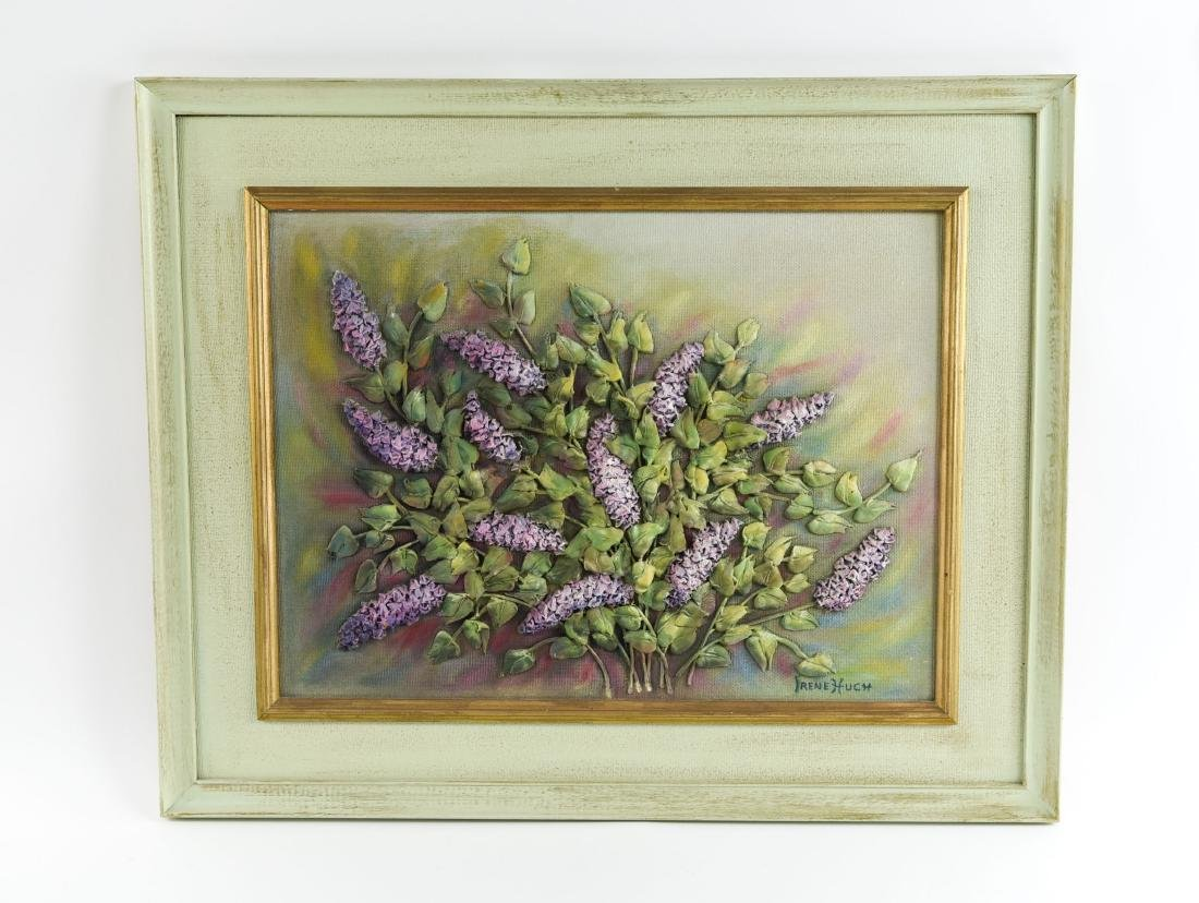 IRENE HUCH LILAC MIXED MEDIA