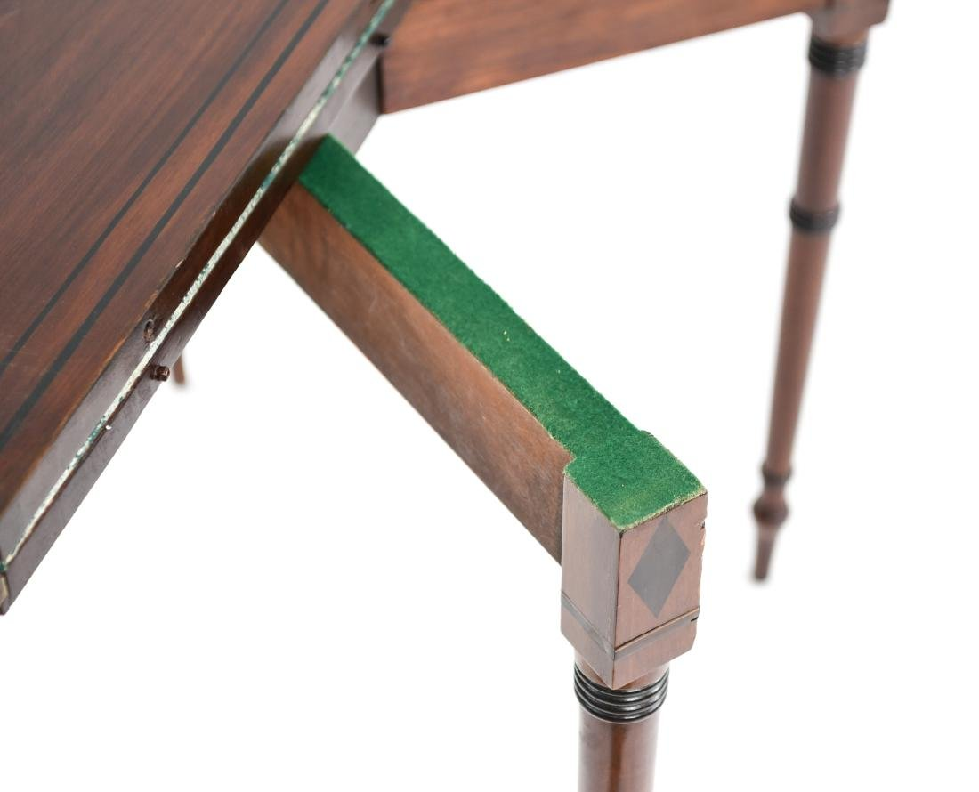 FLIP TOP CONSOLE TABLE - 10