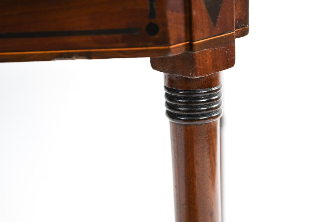 FLIP TOP CONSOLE TABLE - 6