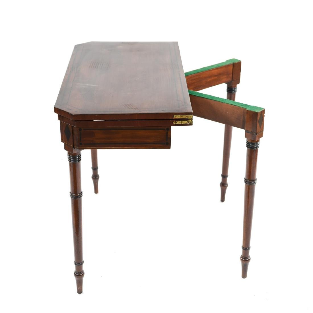 FLIP TOP CONSOLE TABLE - 9