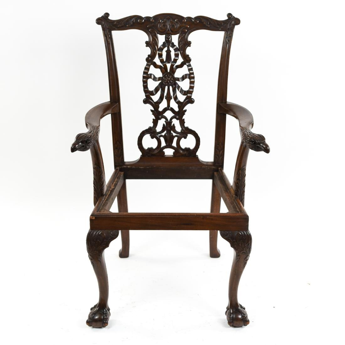 CARVED ARM CHAIR - 3
