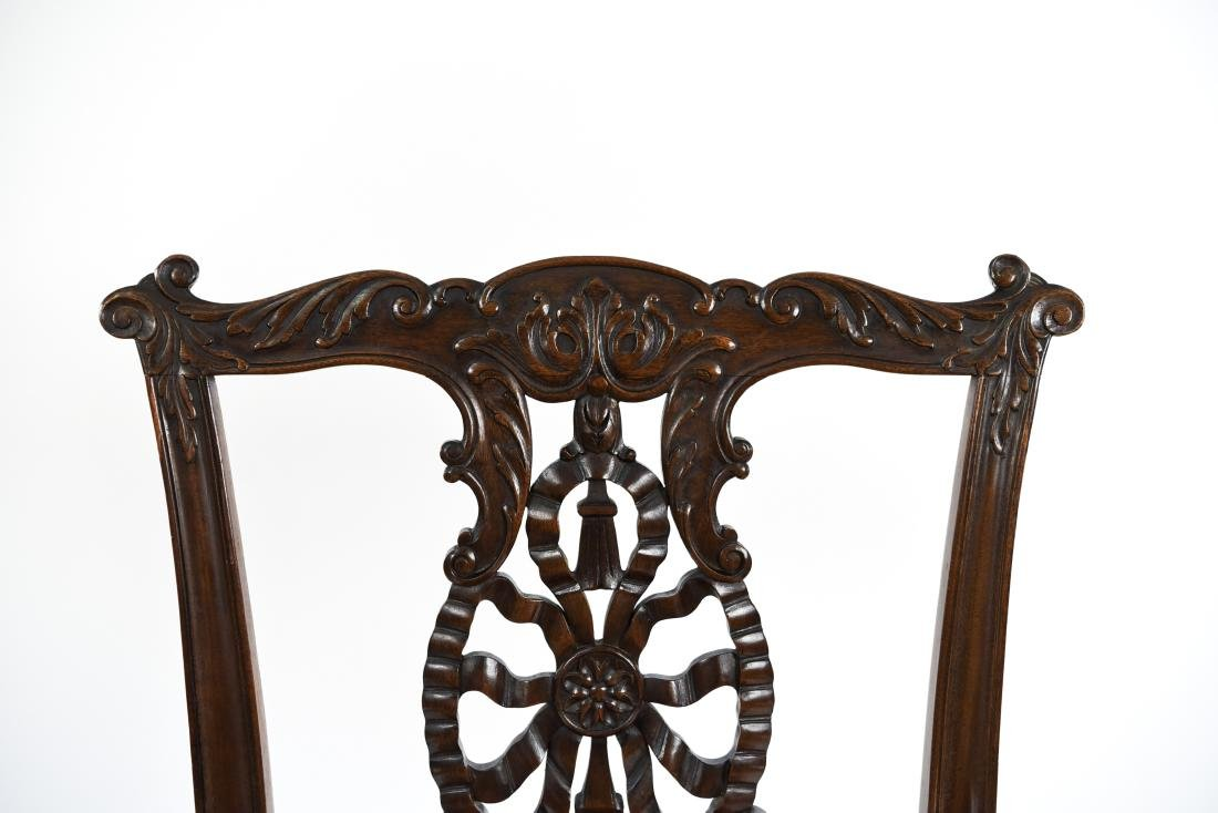 CARVED ARM CHAIR - 5