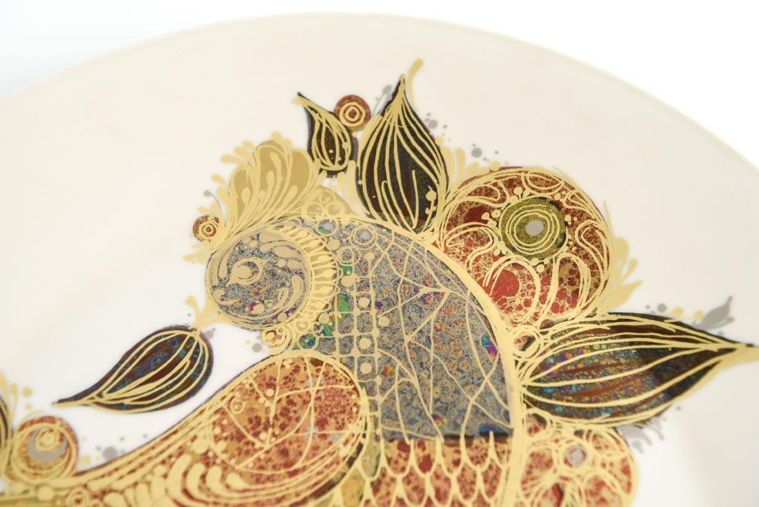 BJORN WINBLAAD FOR ROSENTHAL CERAMIC CHARGER PLATE - 3