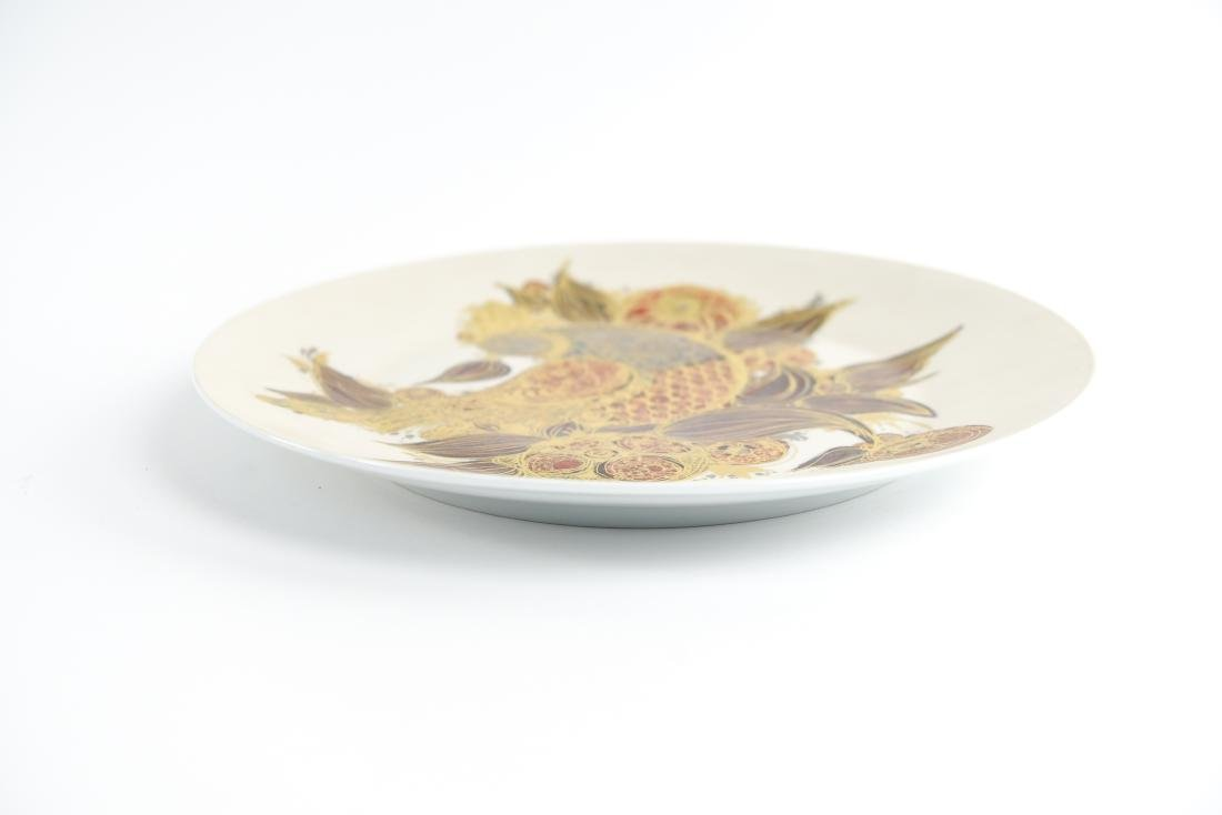 BJORN WINBLAAD FOR ROSENTHAL CERAMIC CHARGER PLATE - 9