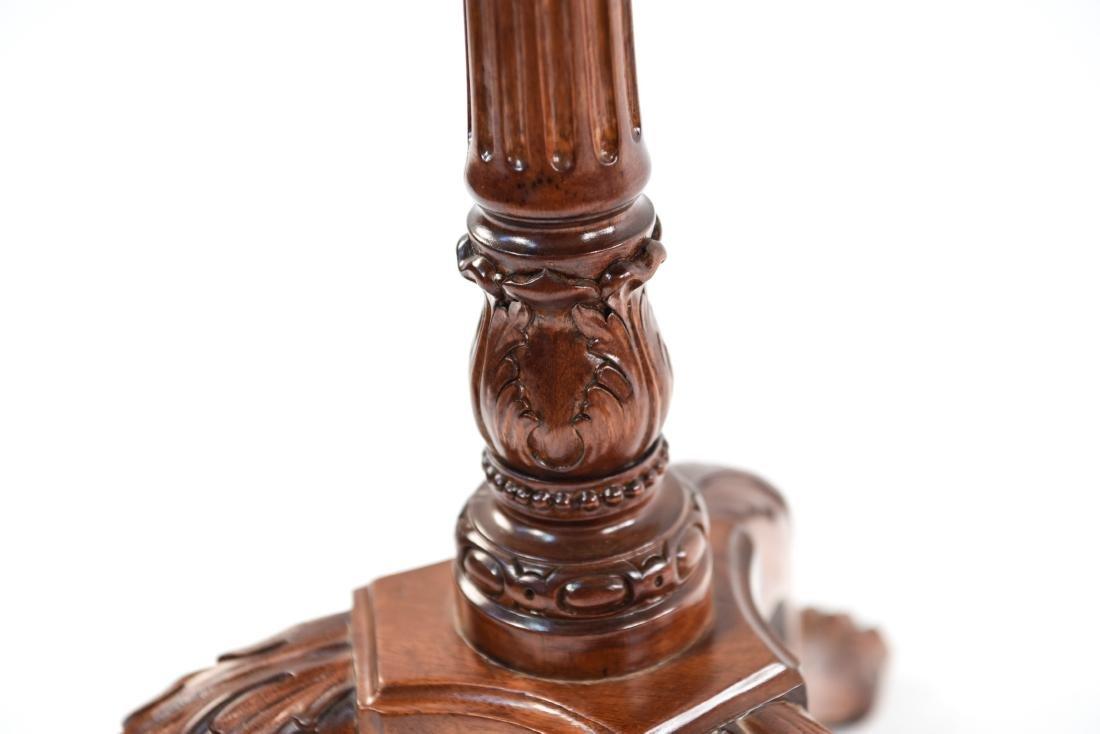 PAIR OF THREE LEG SIDE TABLES - 10