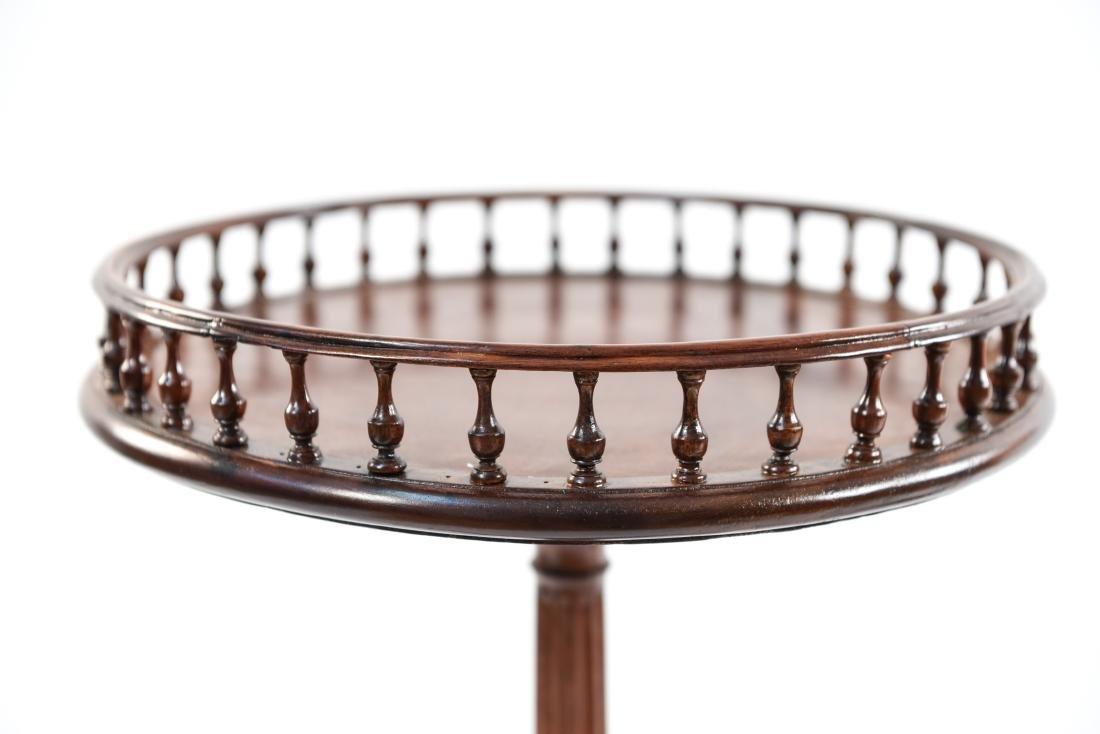 PAIR OF THREE LEG SIDE TABLES - 3