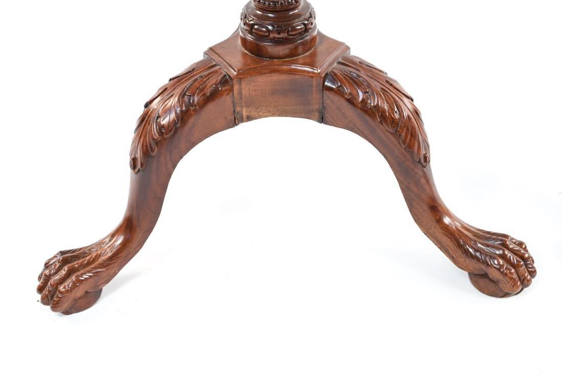 PAIR OF THREE LEG SIDE TABLES - 6