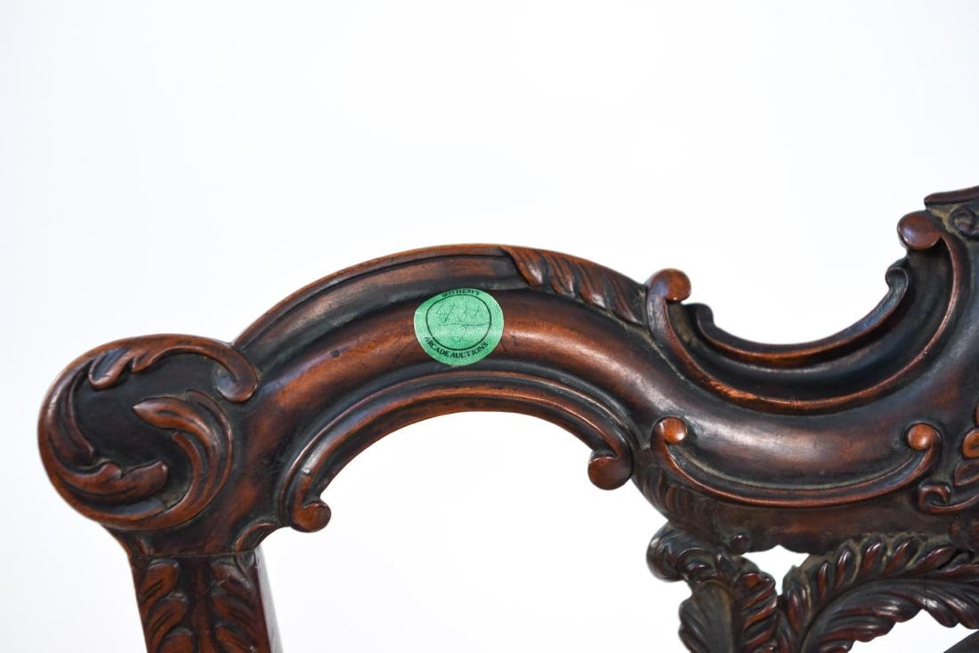 CARVED SIDE CHAIR - 5