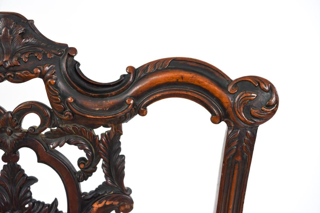CARVED SIDE CHAIR - 7