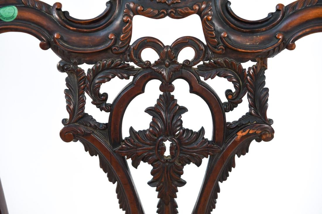 CARVED SIDE CHAIR - 8