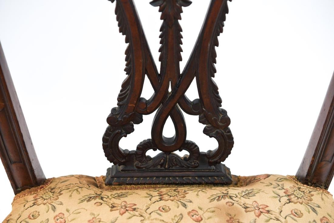 CARVED SIDE CHAIR - 9