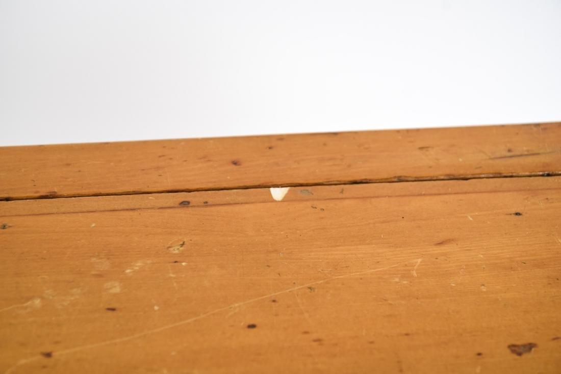 PINE DROP LEAF TABLE W/ LEAVES - 7